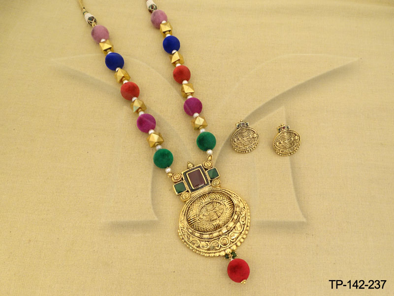 temple-jewellery-pendant-sets-multicolours-design-manekratnatemple-pendant-sets-141968296548nkg