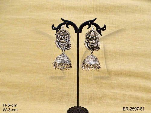 temple-jewellery-ganesh-ji-hold-jhumki-antique-earings-manek-ratna-1462279854n48kg