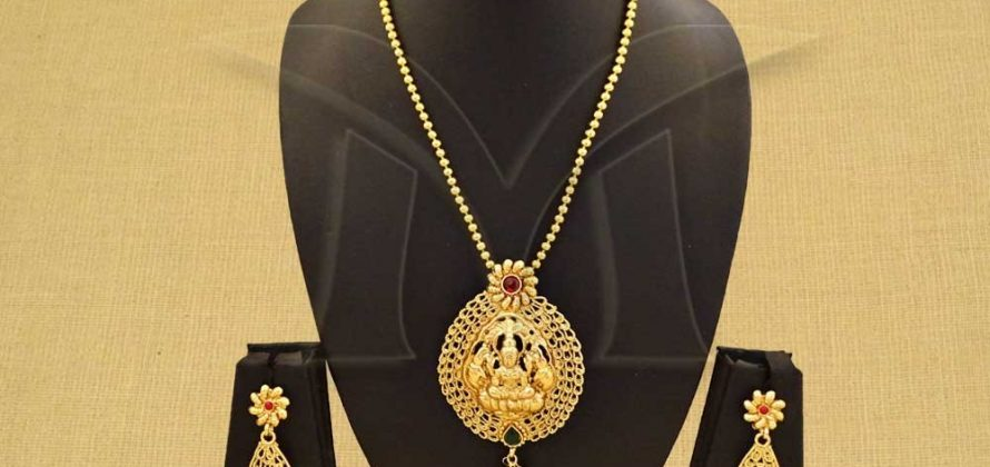 Traditional Temple Jewellery Set