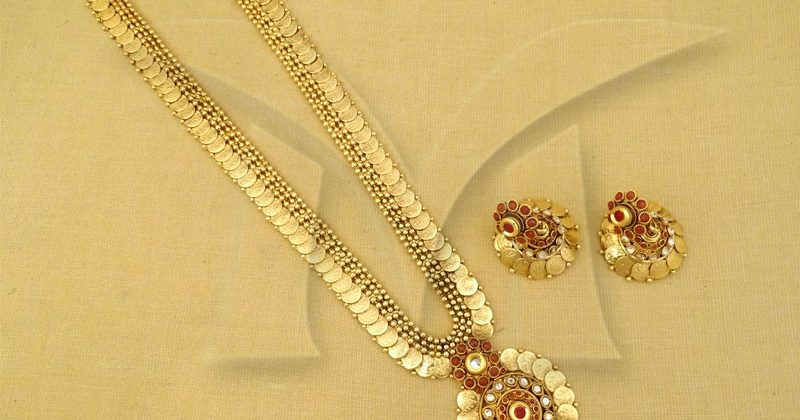 Traditional temple jewelry