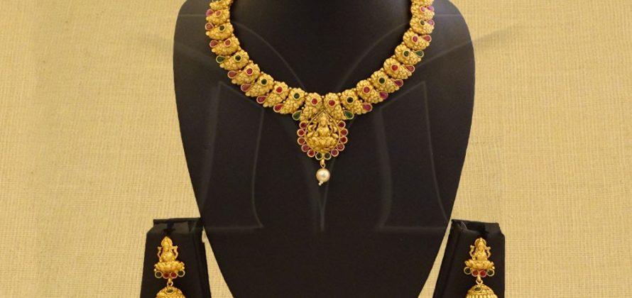 Necklace Temple Jewellery