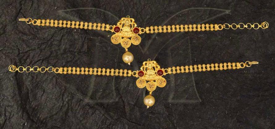 temple jewellery Bajuband