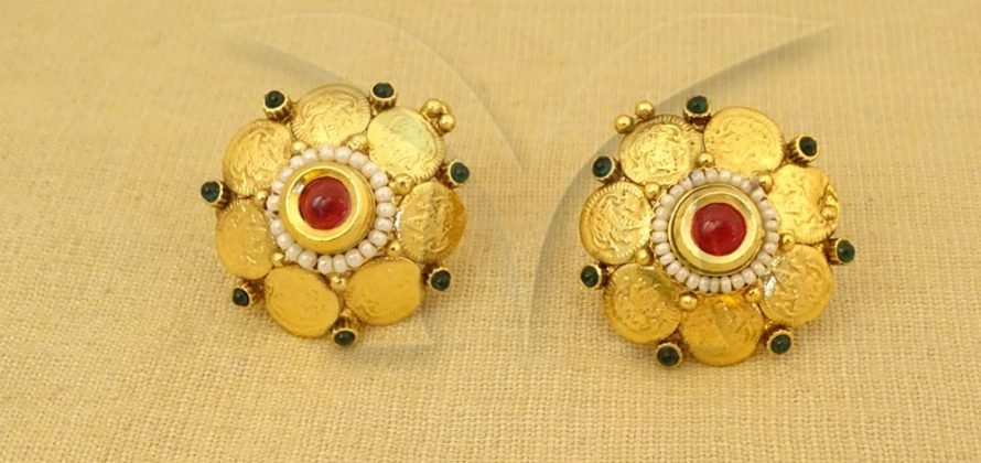 Temple Coin Earrings