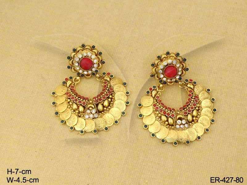 Coin Temple Jewellery Earrings