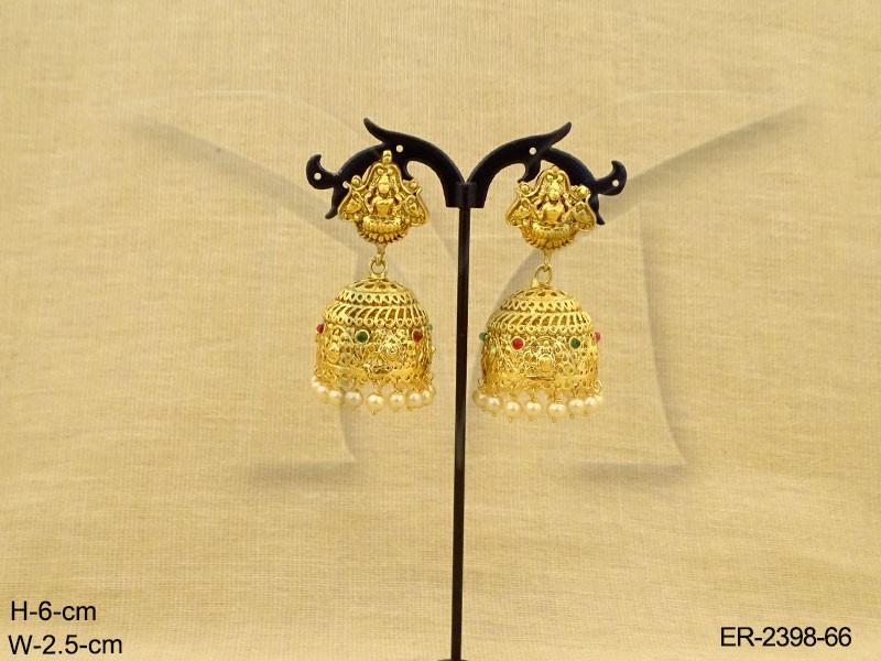 Temple Jewellery Earrings