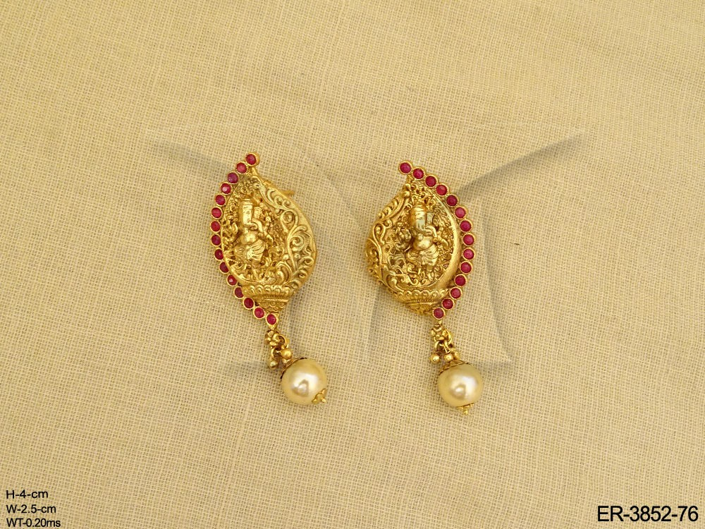 Temple Jewellery Earrings