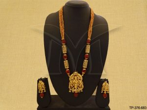 Temple Pendant Set Jewellery