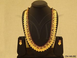 South Coin Temple Necklace Set