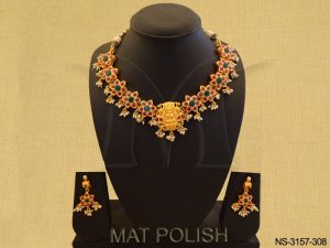 South Indian Style Temple Necklace